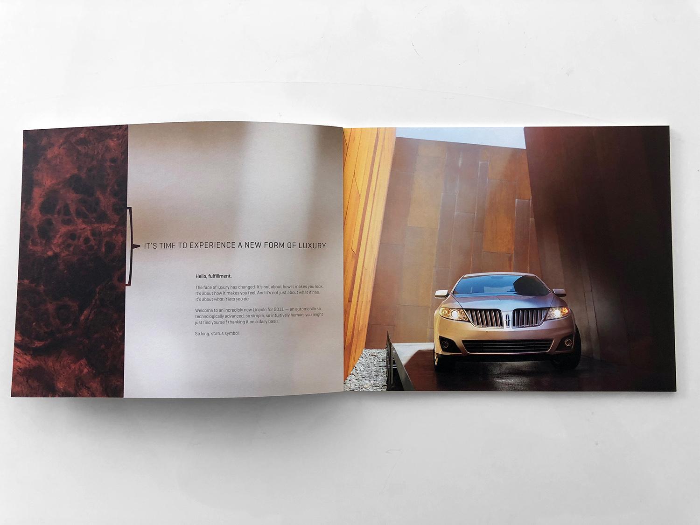 2011 Lincoln Brochures Amy Turunen